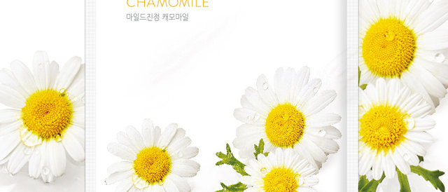 Nature Republic, Real Nature Mask Sheet [Chamomile] 23ml x 10EA (plastic wrap)