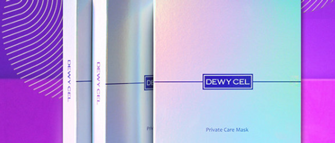 Dewycell, Private Care Mask 3 pieces (15g+30g+5g) x 5EA