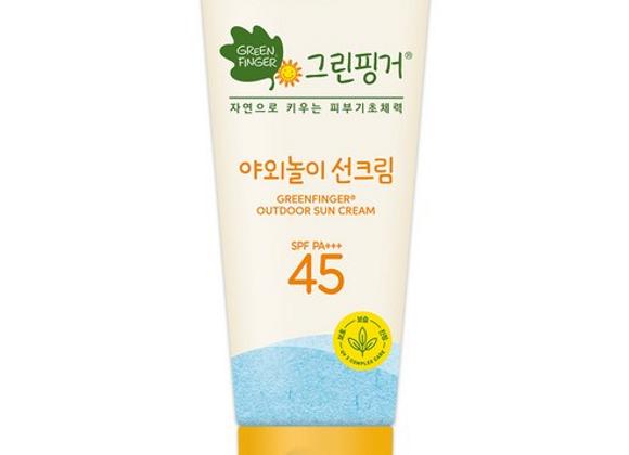 GreenFinger, Outdoor Sun Cream 45+++ 80ml