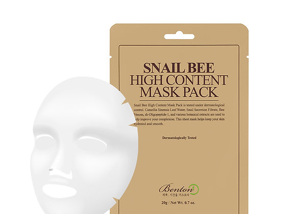 Benton Snail Bee High Content Mask Pack 20g x 10EA