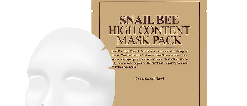 Benton, Snail Bee High Content Mask Pack 20g x 10EA