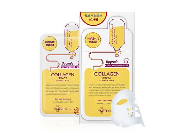 MEDIHEAL Collagen Impact Essential Mask EX 24ml x 10ea (1 box)