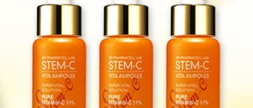 Pharmicell, STEM-C (stem cell liposome1%, V-C 13%) ampoule 15MLx3ea SET