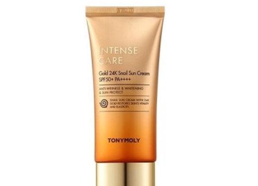 TONYMOLY Intensive Care Gold 24K Snail Sun Cream SPF50/PA++++ 50ml