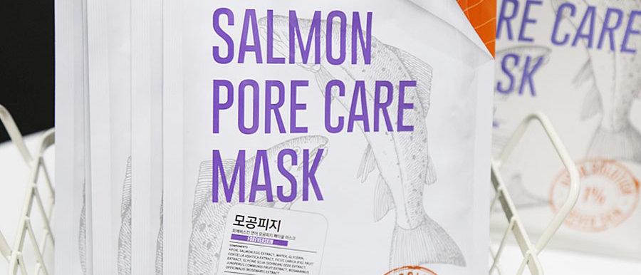 ForeverSkin, Salmon Pore Care Mask 25g x 10ea