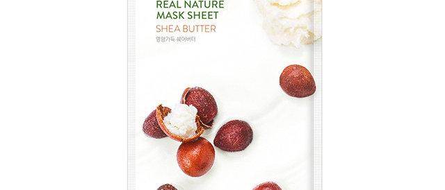 Nature Republic, Real Nature Mask Sheet [Shea Butter] 23ml x 10EA (plastic wrap)