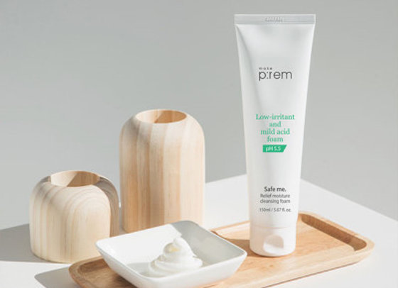 makep:rem, pH5.5 Relief Cleansing Foam 150ml