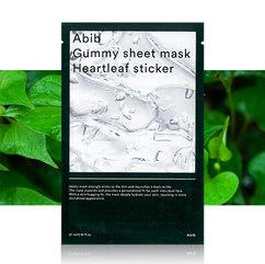 [20EA] Abib, Heartleaf Gummy Sheet Mask 27ml x 5EA