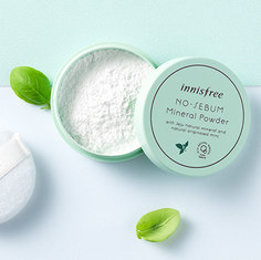 [100EA] innisfree, no-sebum powder 5g