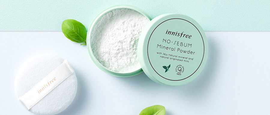 innisfree, No-sebum Mineral Powder 5g