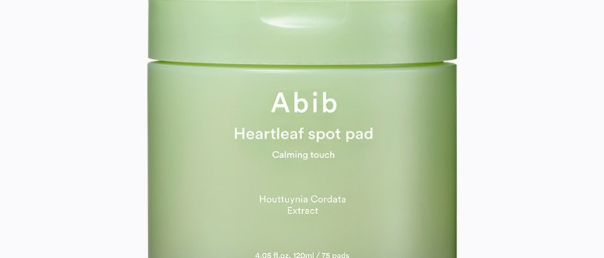 Abib, Heartleaf Spot Pad Calming Touch, 120ml (75pads)