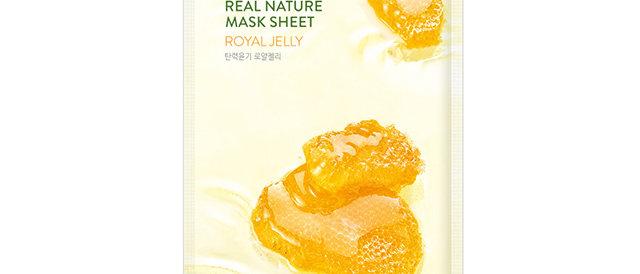 Nature Republic, Real Nature Mask Sheet [Royal Jelly] 23ml x 10EA (plastic wrap)
