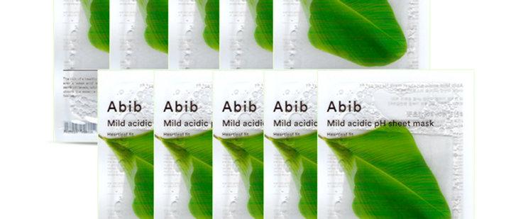 Abib, pH5.5 Fit Mask (Heartleaf) 30ml, 1EA