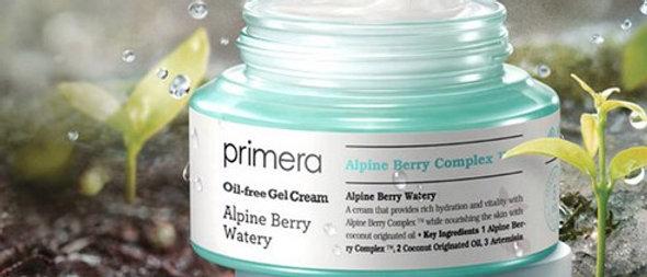 primera, oil free Alpine Berry Watery 50ml