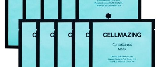 Torriden, Cellmazing Centella 24% Mask 22ml x 10 EA