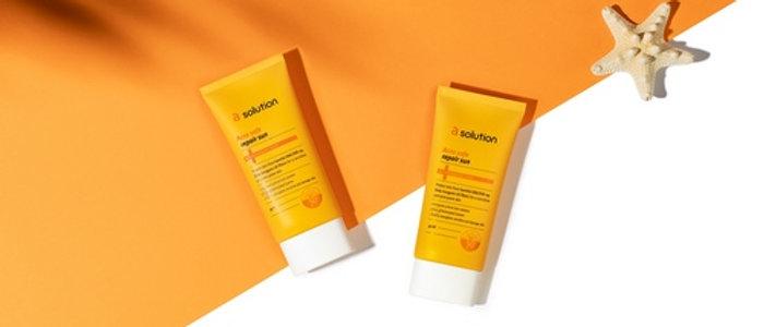 Asolution, Acne safe Repair Sun 50ml, 50++++