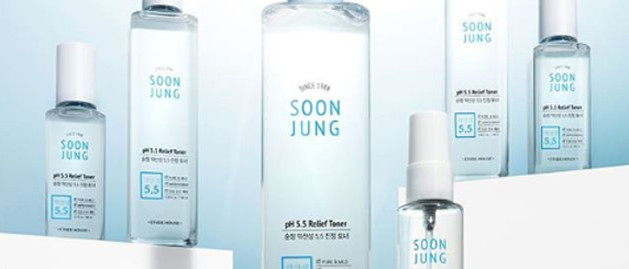 Etude Sunjung pH5.5 Soothing Toner 80ml