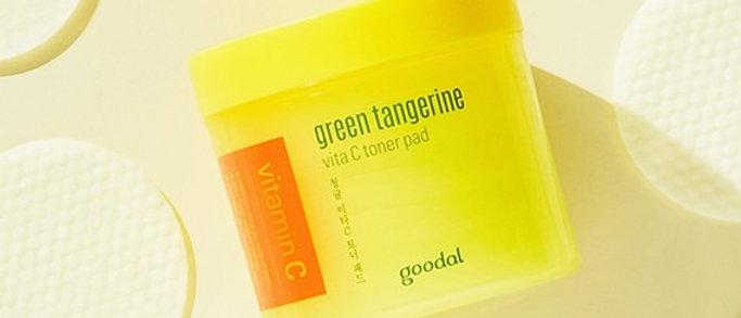goodal, gree tangerine Vita C Toner Pad (70 pads) 140ml