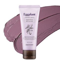 [40EA] Paparecipe, Eggplant Clearing Mud Cream Mask 100ml