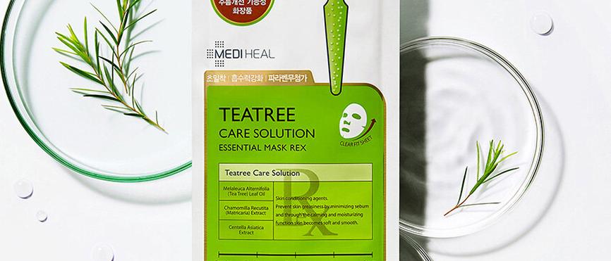 Mediheal, Teatree Care Solution Essential Mask 24ml x 10EA