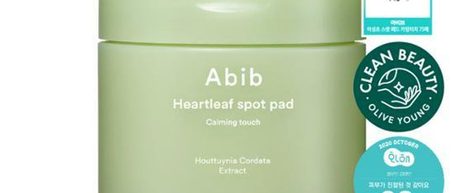 [Member Price] Abib, Heartleaf Spot Pad Calming Touch, 120ml (75pads)