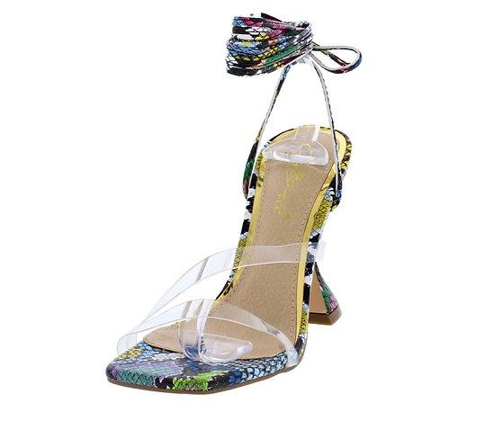 Yellow Snake Women's Heel