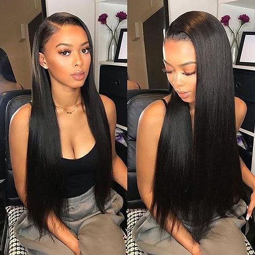 Straight 5x5 HD Brazilian 100 % Human Hair wig