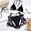 Thumbnail: 2020 Women's 3PCS Bikini Swimsuit Bathing Suit Swimwear Beachwear Brazilian Bra