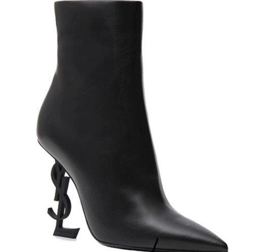 YSL stiletto high heel women's boots wild tube Martin boots