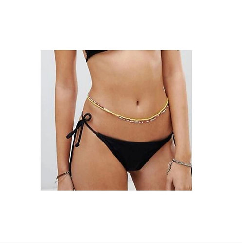 belly chain body jewelry