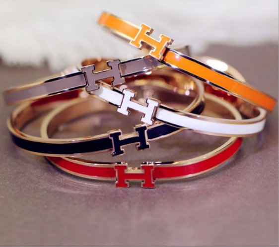 Hermes multicolor ladies bracelet