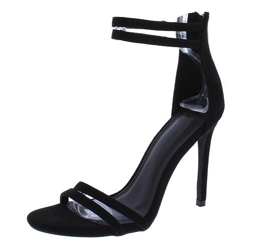 Logan030 Black Women's Heel