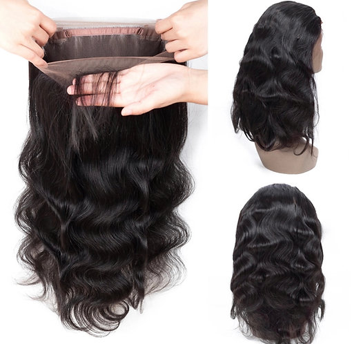 360 Lace Frontal Closure With Bundles