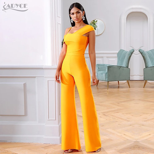 Adyce 2021 New Summer Orange Two Pieces Sets Sexy Spaghetti Strap Short Sleeve T