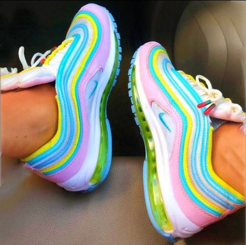 Colorful nike sneakers