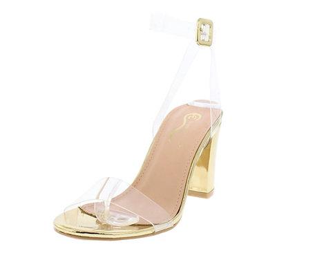 Gold Women's Heel