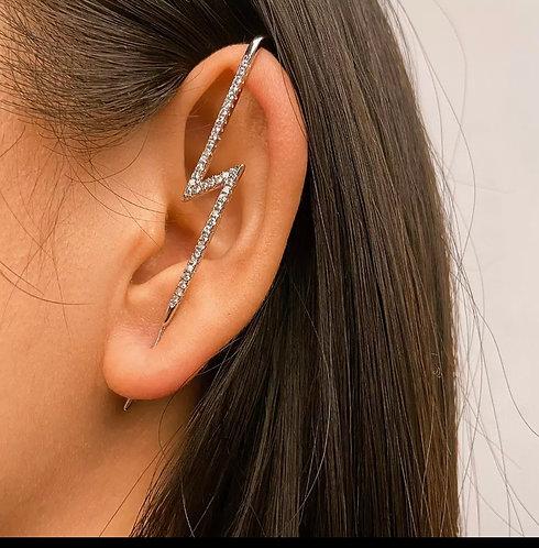 New Ear Needle Wrap Crawler Hook Earrings for Women Surround Auricle Diagonal St