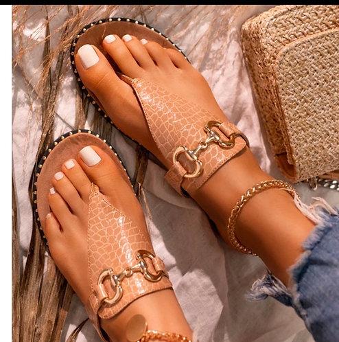 2020 Summer New Women Shoes Flat Women Sandals Open Toe Outdoor Slippers Beach C