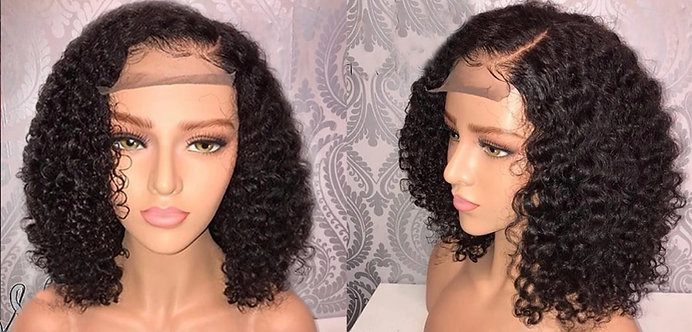 Lace Front Human Hair Wigs Pre Plucked With Baby Hair