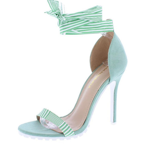 Rhonda Mint Women's Heel