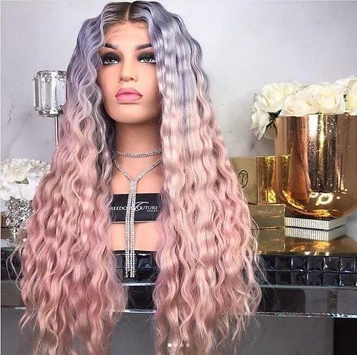 Custom made Boss hair natural human hair wig
