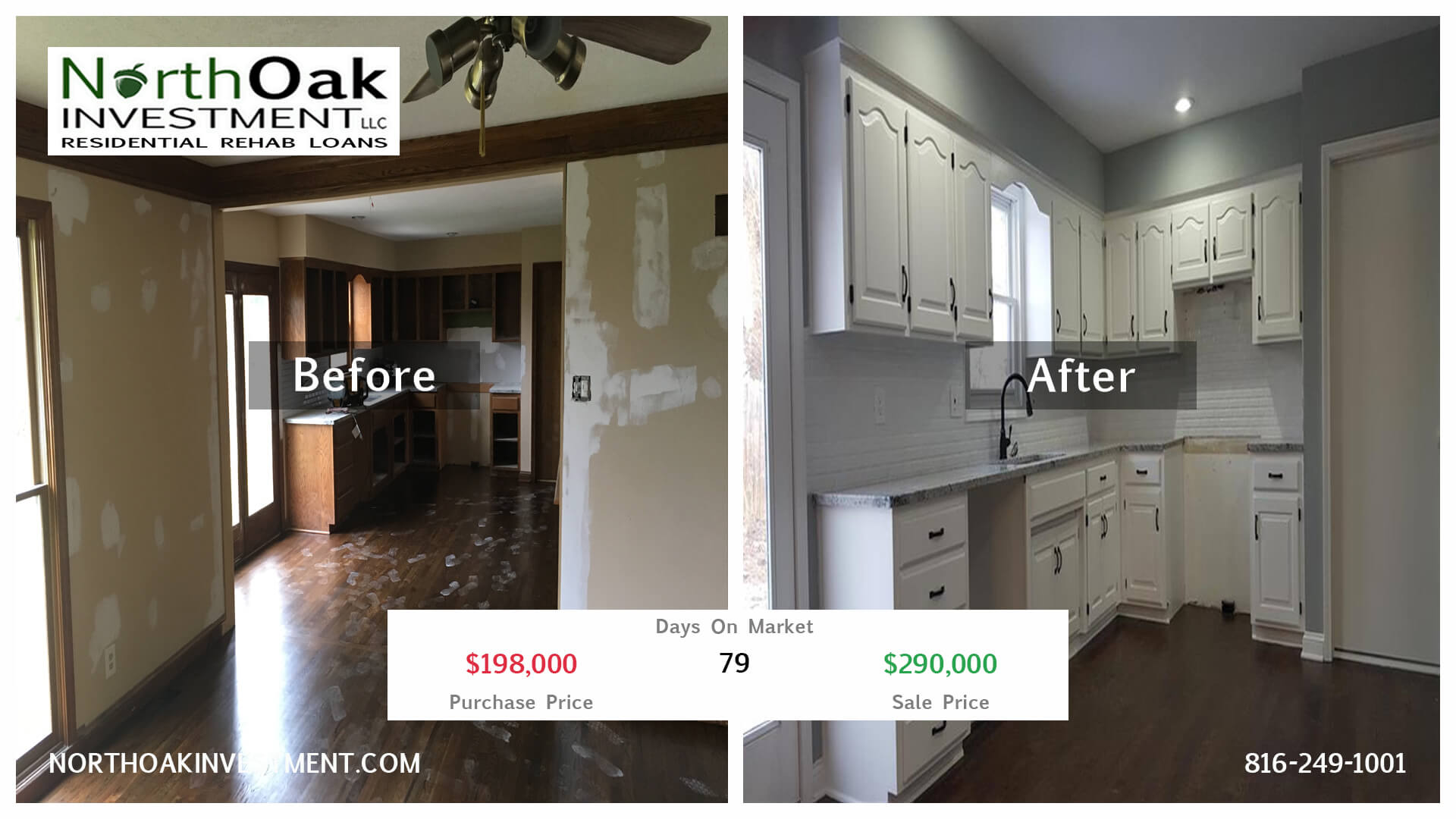 Before and After Real Estate Rehab