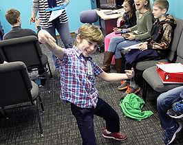 Fun Kid at Grace Baptist