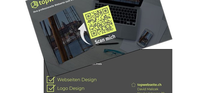 Visitenkarten topwebseite.ch