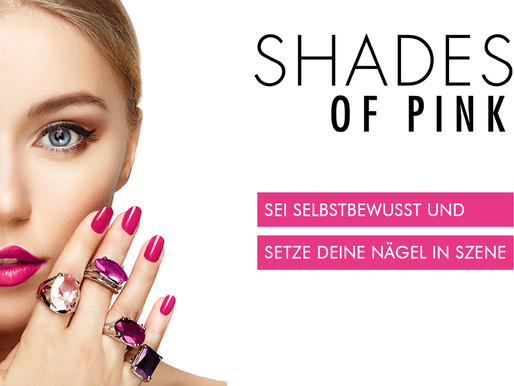 Pedicure bei Sonaya Kosmetik - Mit der neuen Minilack Kollektion SHADES OF PINK!