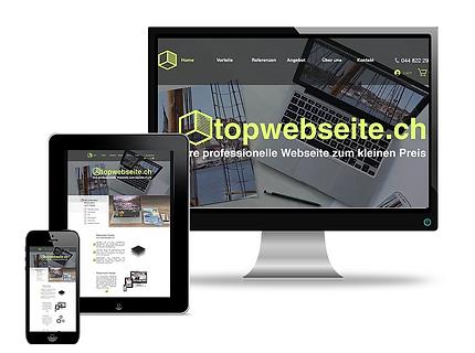 Ihre professionelle Topwebseite
