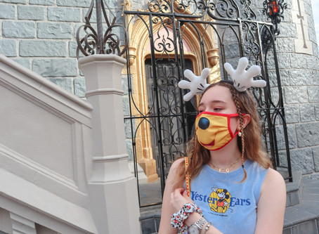 Wearing Masks at Walt Disney World