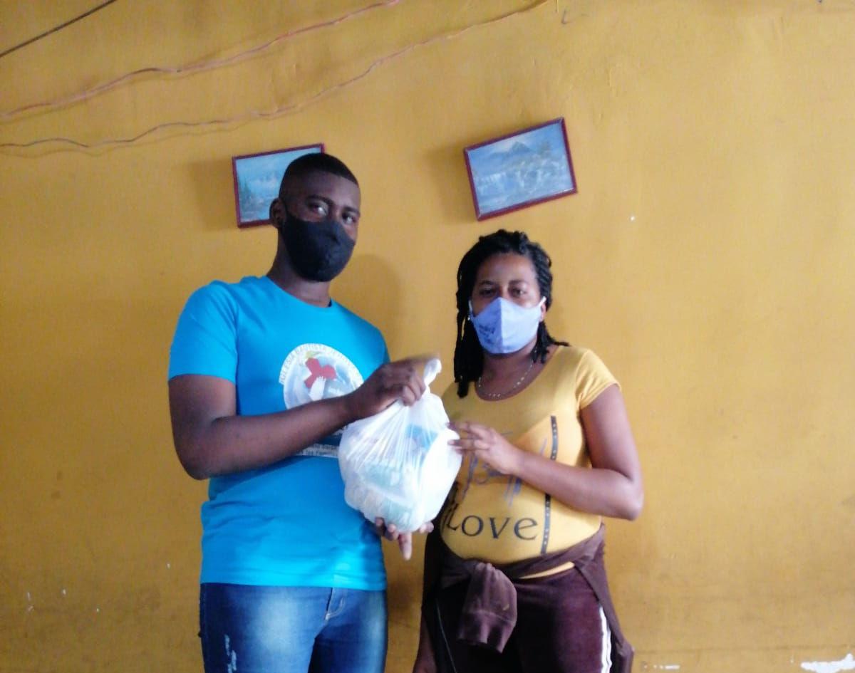 Mission en Cali Colombia -Donaciones de Alimentos