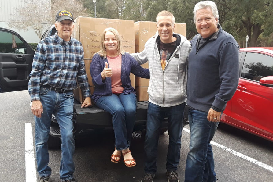 Donando para Honduras