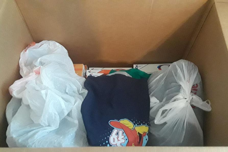 Donaciones de ropa Cali Colombia
